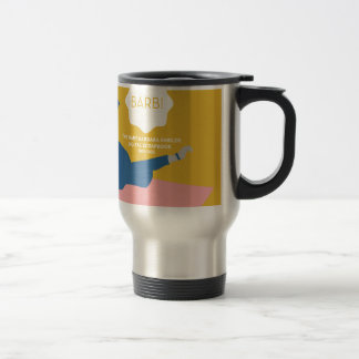 Table Tennis Barb Travel Mug