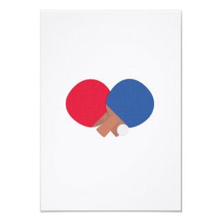table tennis bat and ball card
