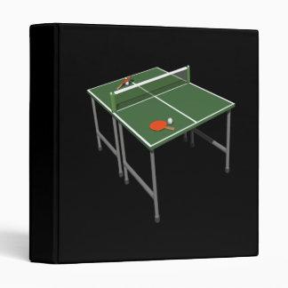 Table Tennis 3 Ring Binders