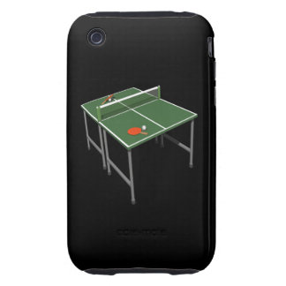 Table Tennis iPhone 3 Tough Covers