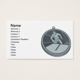 Table Tennis Champion Business Card