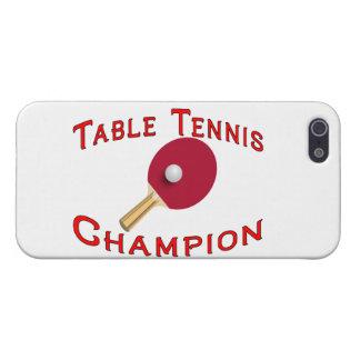 Table Tennis Champion iPhone SE/5/5s Case