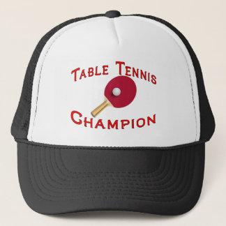 Table Tennis Champion Trucker Hat