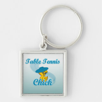 Table Tennis  Chick #3 Keychains