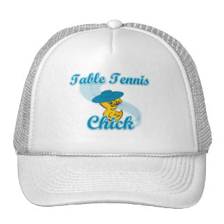 Table Tennis  Chick #3 Mesh Hat