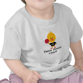 Table Tennis Chick Infant T shirt