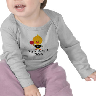 Table Tennis Chick Long Sleeve Infant Tee