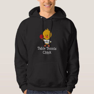 Table Tennis Chick Sweatshirt