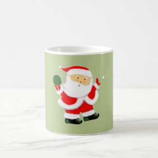 Table Tennis Christmas Coffee Mug