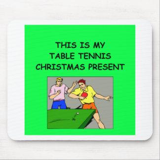 TABLE TENNIS christmas Mouse Pad