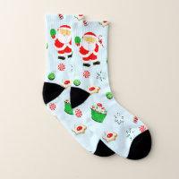 table tennis Christmas Socks