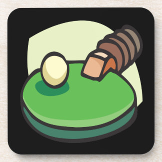 Table Tennis Drink Coaster