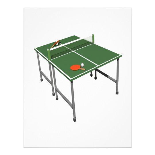 Table Tennis Flyer