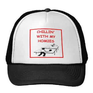 table tennis trucker hat