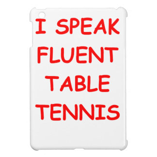 table tennis case for the iPad mini