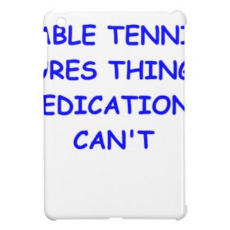 table tennis cover for the iPad mini
