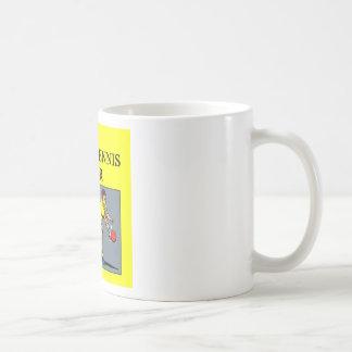 TABLE tennis joke Classic White Coffee Mug