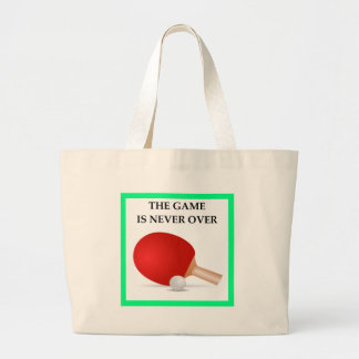 table tennis large tote bag