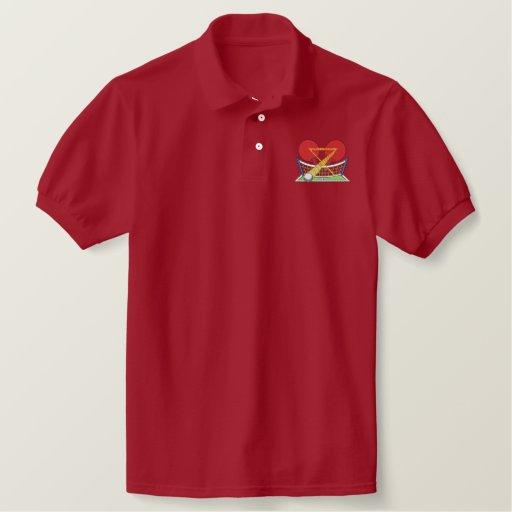 Table Tennis Logo Embroidered Polo Shirt