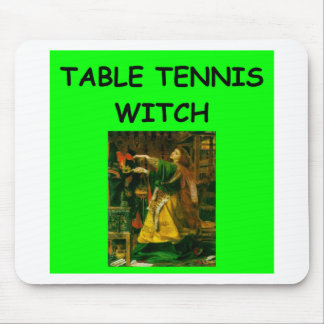 table tennis mouse pad