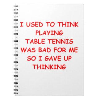 table tennis journals