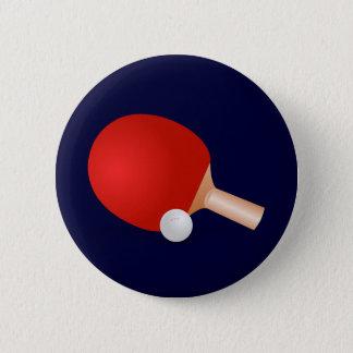 Table Tennis Pinback Button