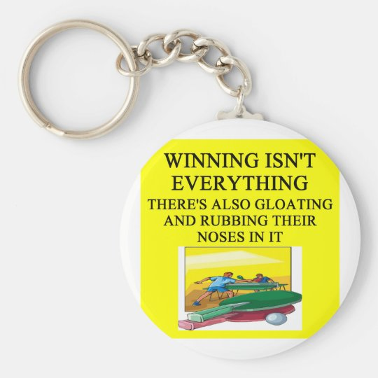 table tennis ping pong keychain