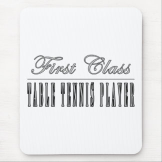Table Tennis Players : First Class Player Mouse Pad