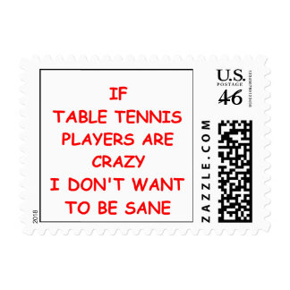 table tennis stamps