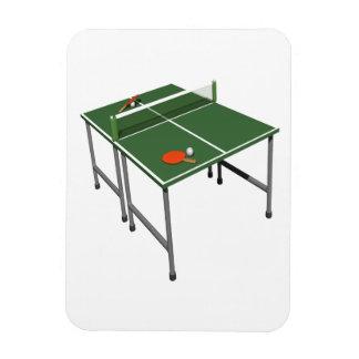 Table Tennis Vinyl Magnet