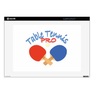 """Table Tennis Pro Skin For 15"""" Laptop"""