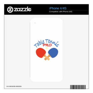 Table Tennis Pro Skins For iPhone 4S