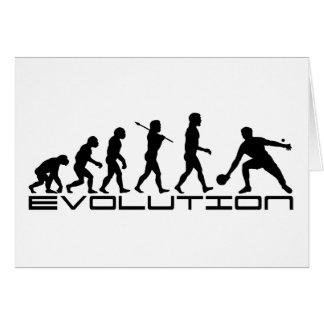 Table Tennis Sport Evolution Art Card