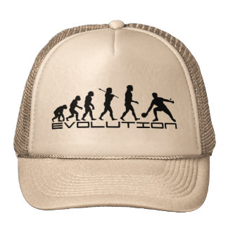 Table Tennis Sport Evolution Art Hat