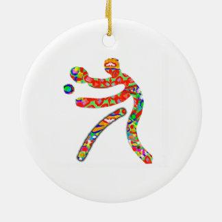 TABLE TENNIS Sports Christmas Ornaments