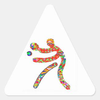 TABLE TENNIS Sports Triangle Sticker