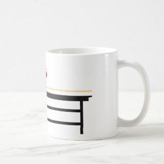 Table tennis taza de café