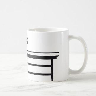 Table tennis tazas de café