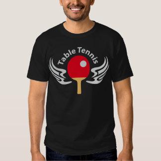 Table tennis tee shirt