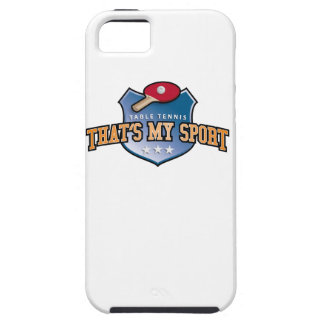 table tennis - that's my sport iPhone SE/5/5s case