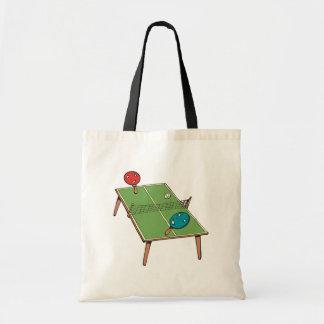 Table Tennis Tote Bag