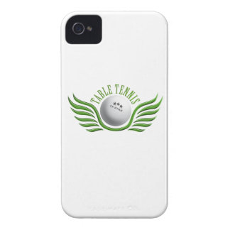 table tennis wings Case-Mate iPhone 4 case