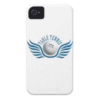table tennis wings iPhone 4 case