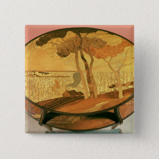 Table-top, late 19th century pinback button