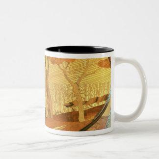 Table-top, late 19th century Two-Tone coffee mug