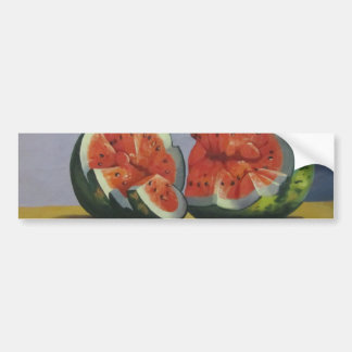 Table with Fruits Bumper Sticker