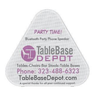 TableBaseDepot Bluetooth Pieladium Party Speaker