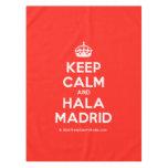 [Crown] keep calm and hala madrid  Tablecloth