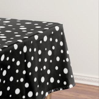 tablecloth black u0026amp white polka dots