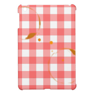 Tablecloth Ring Stains iPad Mini Cases